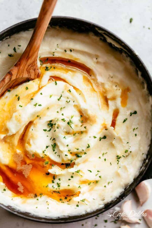 The 25 BEST Mashed Potato Recipes - brown butter.