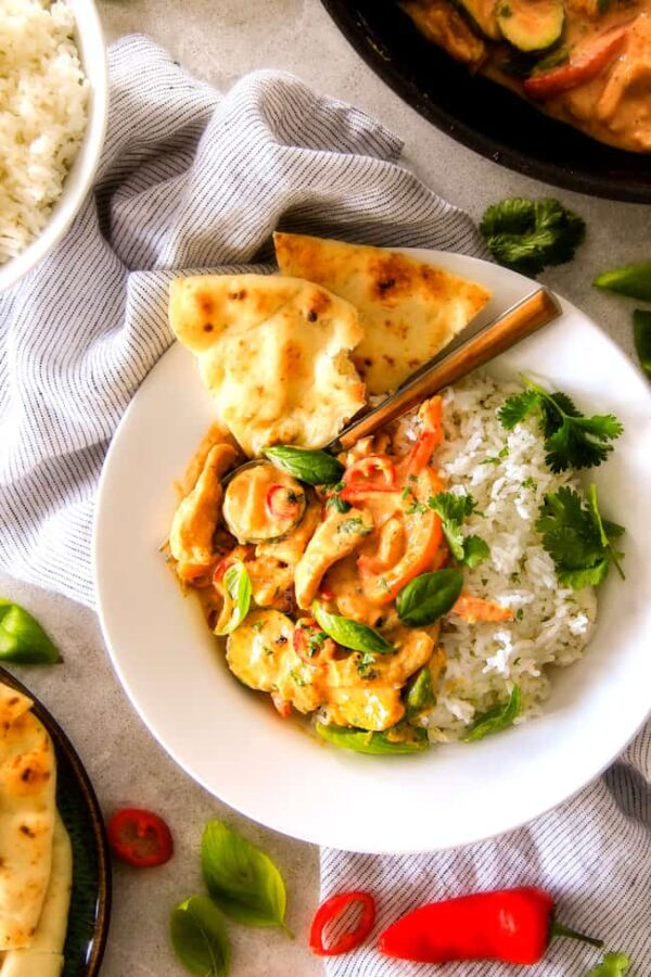 The 30 BEST Quick Dinners - Thai red curry.