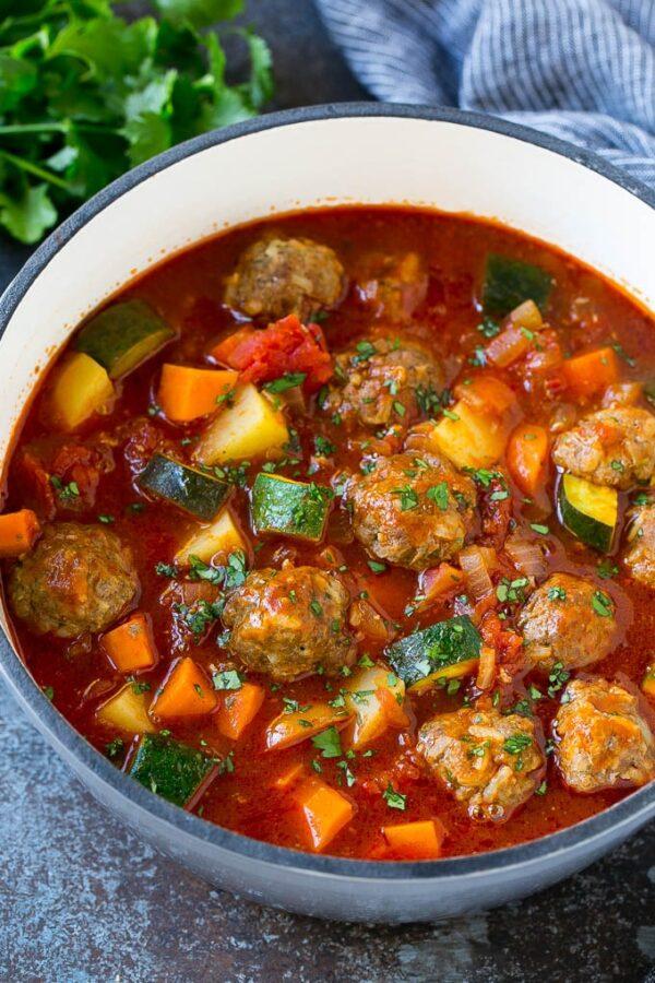 The 40 BEST Soup Recipes - albondigas.