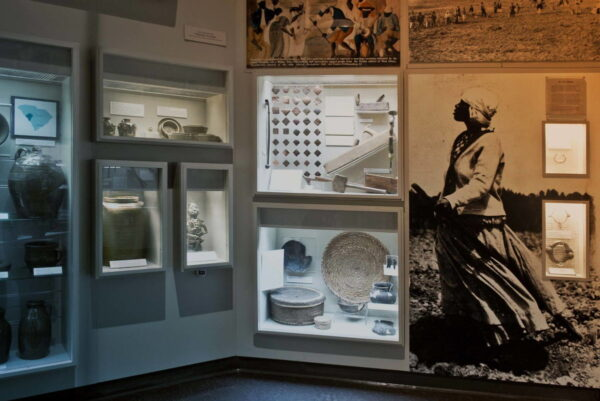 A display at the Charleston museum.