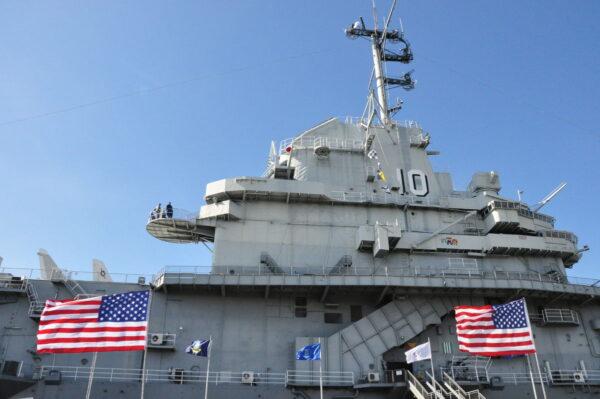 USS Yorktown.