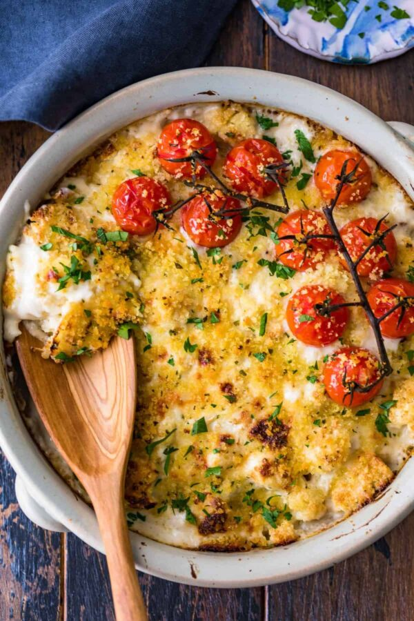 The 35 BEST Cauliflower Recipes - au gratin.