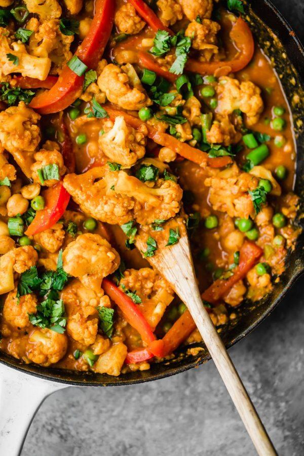 The 35 BEST Cauliflower Recipes - Thai curry.