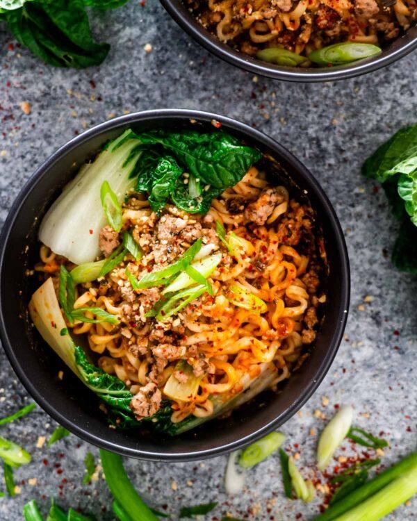 The 30 BEST Quick Dinners - dan dan noodles.