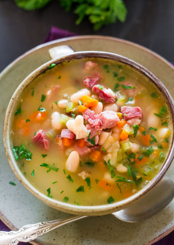 The 40 BEST Soup Recipes - ham and bean.