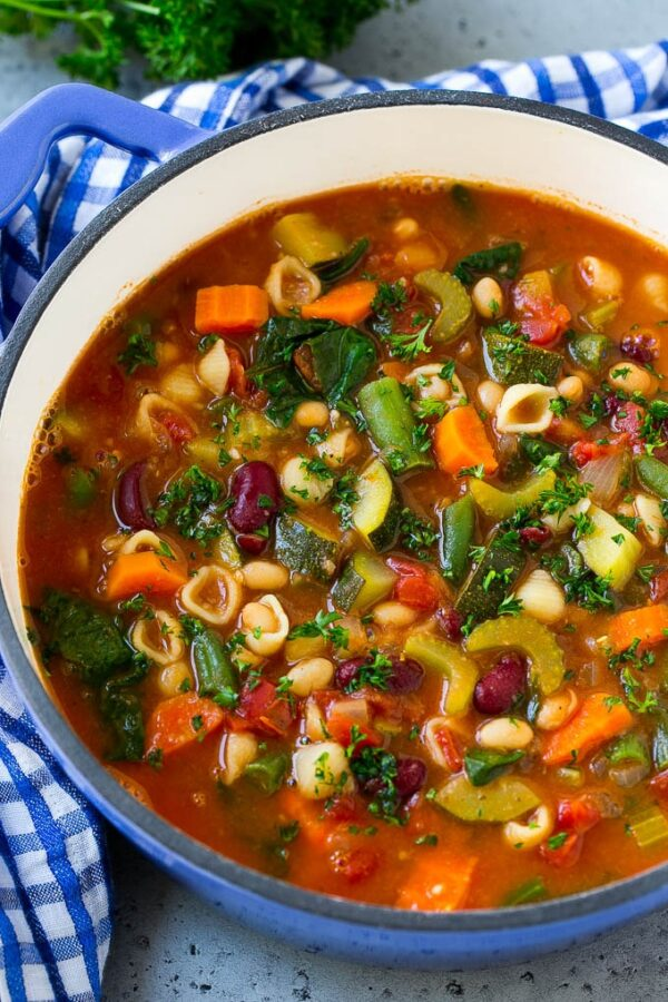 The 40 BEST Soup Recipes - minestrone.