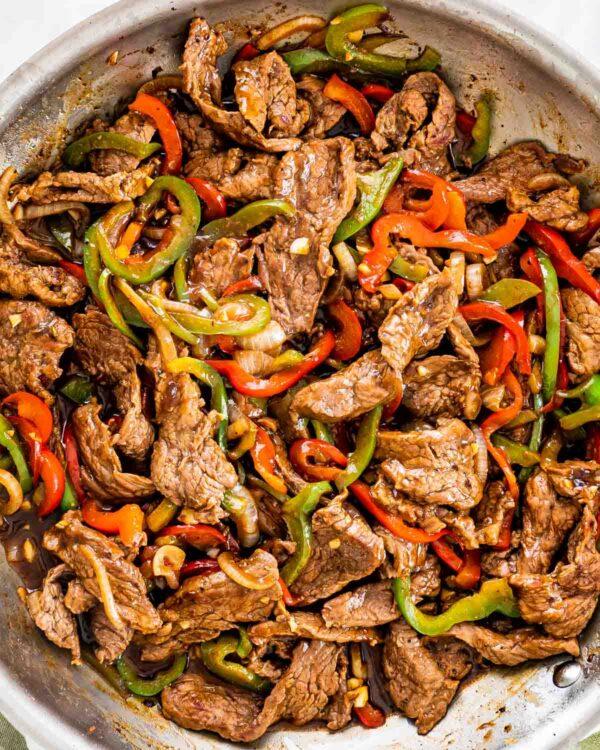 The 30 BEST Quick Dinners - pepper steak.
