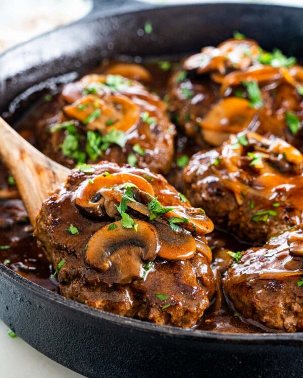 The 30 BEST Quick Dinners - salisbury steak.