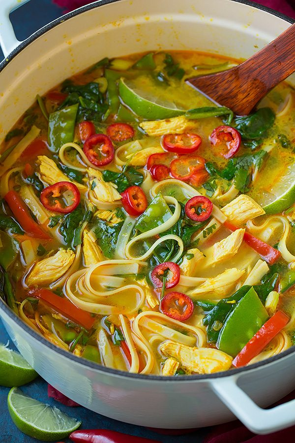 The 40 BEST Soup Recipes - thai curry.