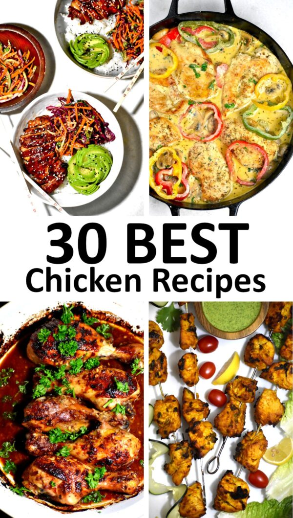 The 30 BEST Chicken Recipes.