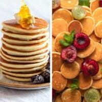 Pancake recipes.