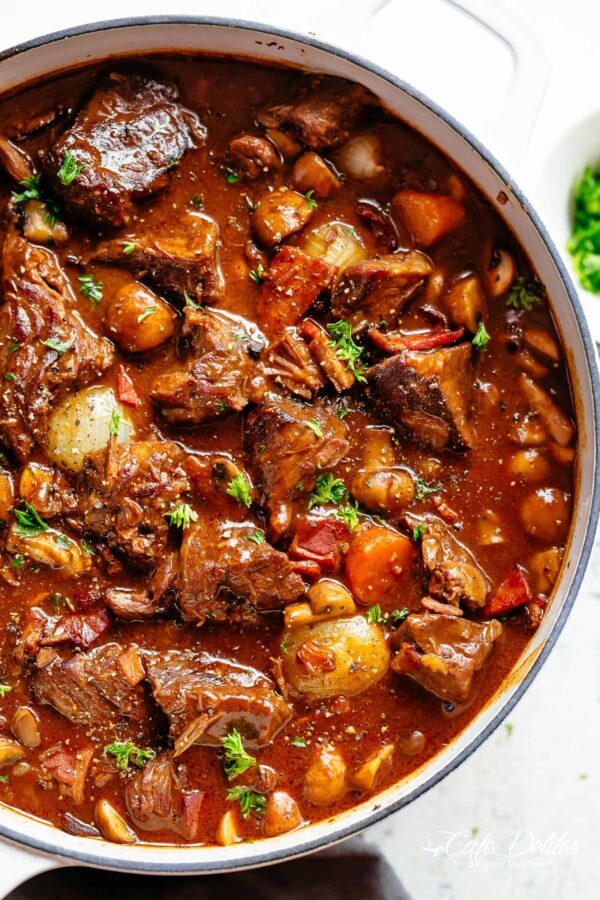 The 35 BEST Stew Recipes - beef bourguignon.