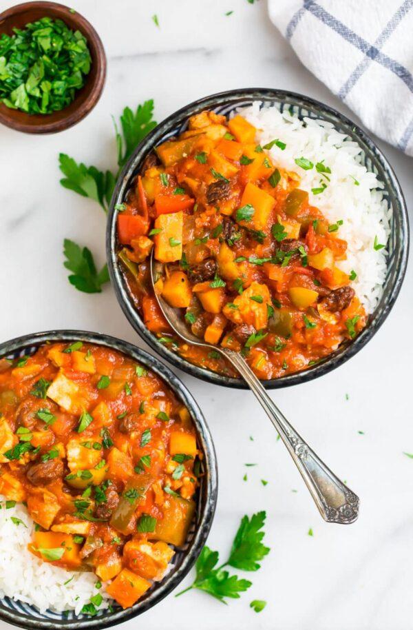 The 35 BEST Stew Recipes - Spanish chicken.