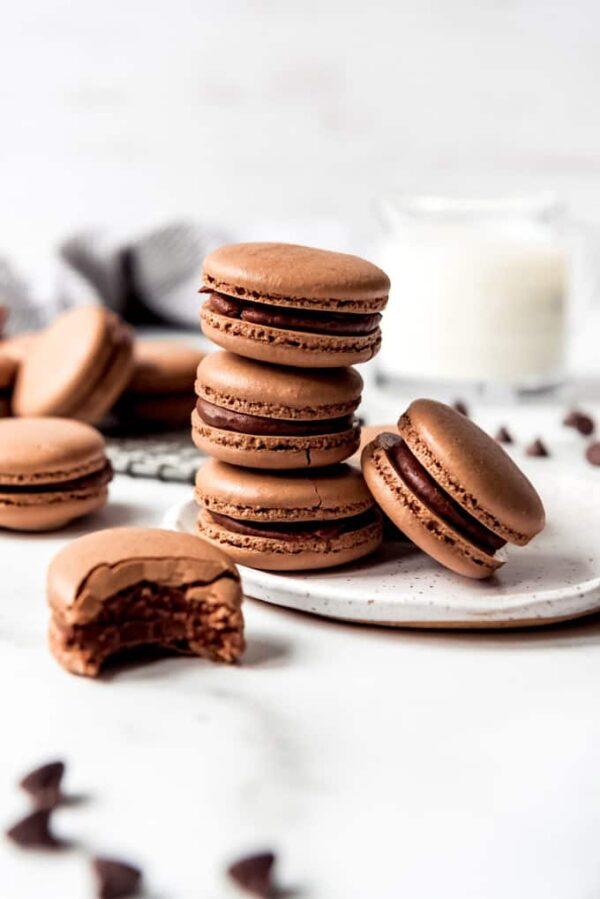 The 25 BEST Macaron Recipes - chocolate.