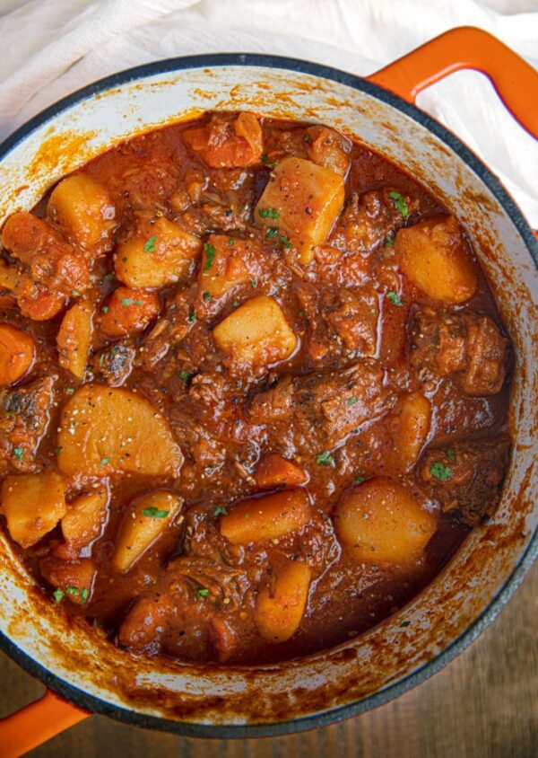 The 35 BEST Stew Recipes - Hungarian goulash.