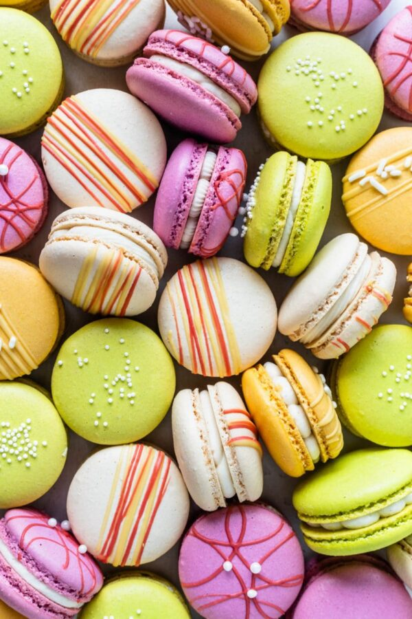 The 25 BEST Macaron Recipes - colorful.